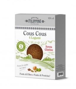 Cous cous 4 legumi 250g