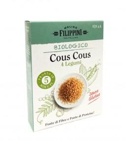 Cous cous 4 legumi Bio